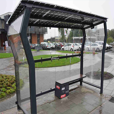 Solar Bus Station & Shelter